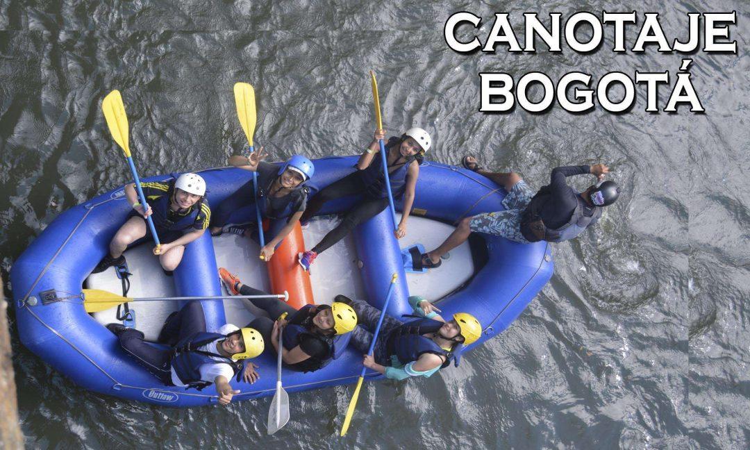 Canotaje Rafting Kayak cerca bogota