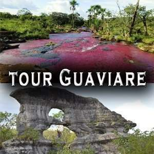 Tour GUAVIARE rió de los 7 colores