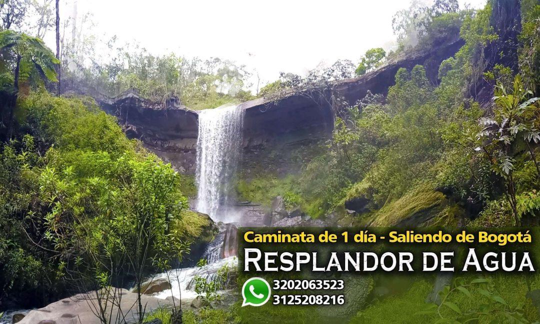Cascada de veraguas chorro salto de veraguas en pacho Cundinamarca cascadas cerca a bogota