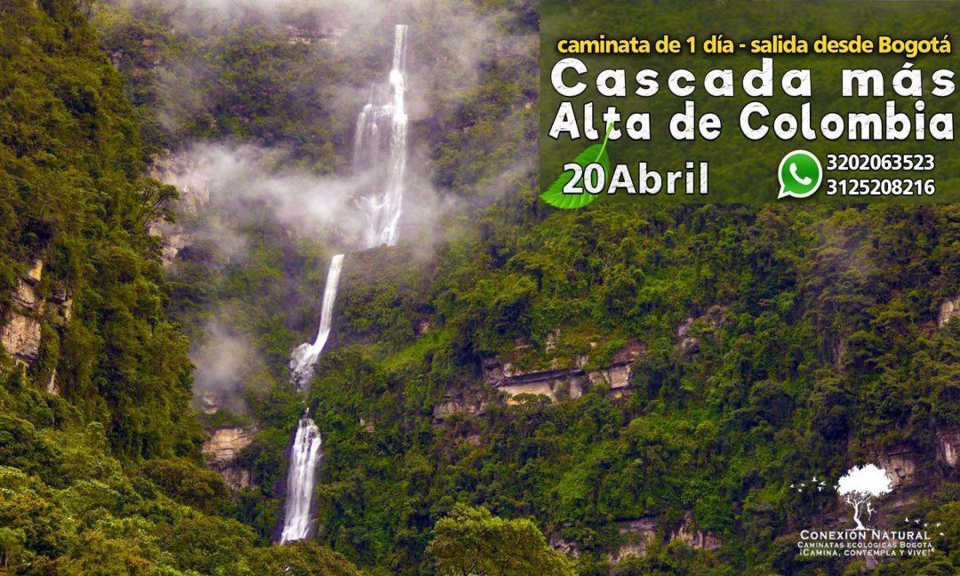 Cascada más alta de Colombia