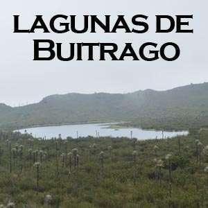 Lagunas de Buitrago en Chingaza