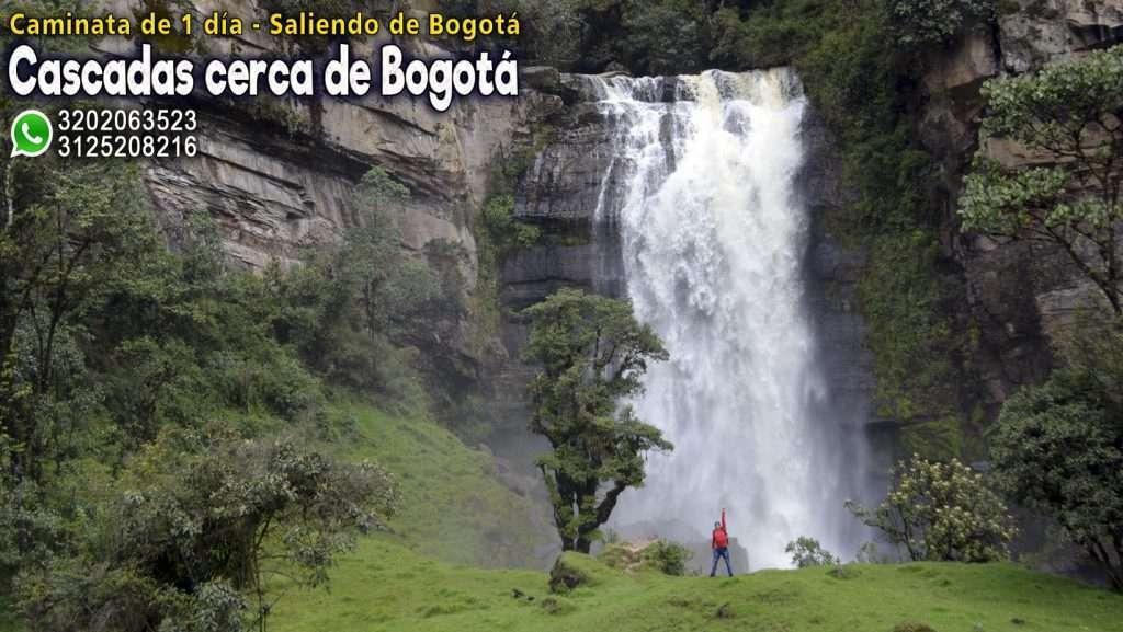 Cascadas cerca a Bogota Cascadas en Cundinamarca