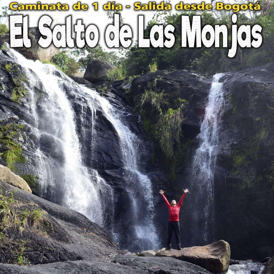 Salto de las Monjas - Cascadas cerca de Bogotá